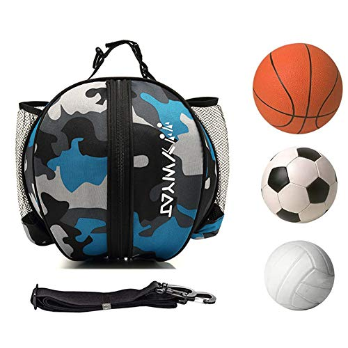 Bolsa de Pelota Impermeable para Baloncesto, Fútbol, Voleibol ect,Bolsa de Baloncesto portátil para Transportar balones de Voleibol de fútbol,Bolsa de Hombro para Deportes al Aire Libre
