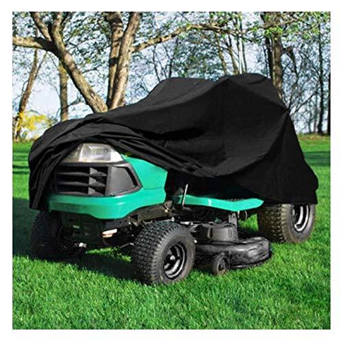 Cubierta para cortacésped Cubierta para Tractor Guía Impermeable Cubierta para cortacésped 210D Poliéster Oxford con cordón y Cubierta para Bolsa de Almacenamiento (Color : M)