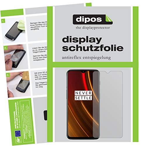 dipos I 6X Schutzfolie matt kompatibel mit OnePlus 6T McLaren Edition Folie Bildschirmschutzfolie
