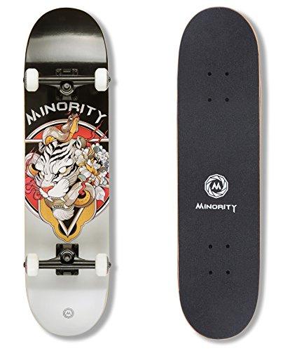 MINORITY 32inch Maple Skateboard (Tiger)