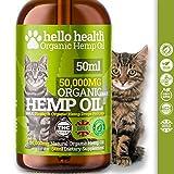 HELLO HEALTH Cat Calming Supplement | Natural Organic Hemp Oil Drops For Cats | <span class='highlight'>Pet</span> Supplement | Omega 3,6,9 | Made In <span class='highlight'>UK</span>