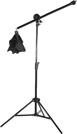 Fovitec StudioPRO Photography Studio Lighting Boom Arm Kit With Light Stand and Sandbag