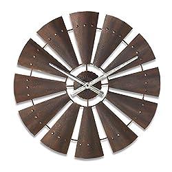 Big Sky Carvers Windmill Clock