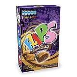 FLIPS CHOCOLATE Venezuela. Caja 320 gr / 11.3 oz. Cereal a base de arroz, trigo y avena en forma de almohaditas, con delicioso relleno de chocolate