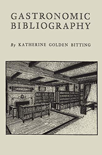 Download Gastronomic Bibliography 1888262389
