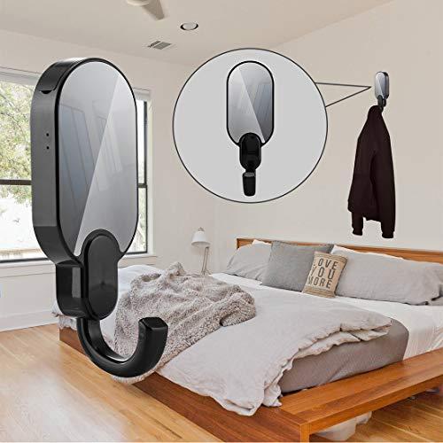 Cámara de vigilancia 1080P HD Mini Gancho Cámara Oculta WiFi Percha de Pared inalámbrica Cámara de Video Seguridad Ladrón Visión Nocturna para el hogar y la Oficina