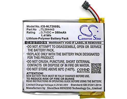 Battery for Nest TL284443 Learning Thermostat 2nd Generation Learning...