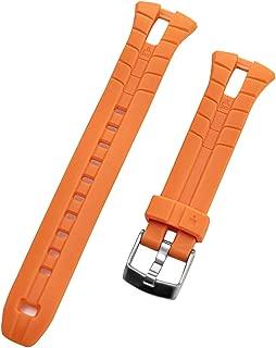 Men's Ironman Triathlon 50-Lap T5K220 WR 100m Orange Original Replacement Watch Band