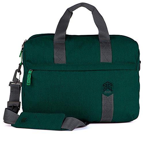 STM Judge Shoulder Bag for 15-Inch Laptop - Botanical Green