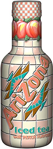Arizona Té negro de melocotón 500 ML