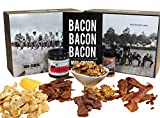 BACON. BACON. BACON. Some say man cannot live by bacon alone. We beg to differ. Sure, bacon and eggs are a handsome pair, but skip the eggs and give us a double stack of that mouth-watering sliced pork any day. Same goes for lunch. A BLT is nice, but...