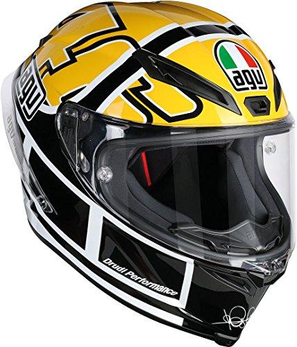 AGV Motorradhelm Corsa R E2205 Top PLK, Rossi Goodwood Gelb, Größe L