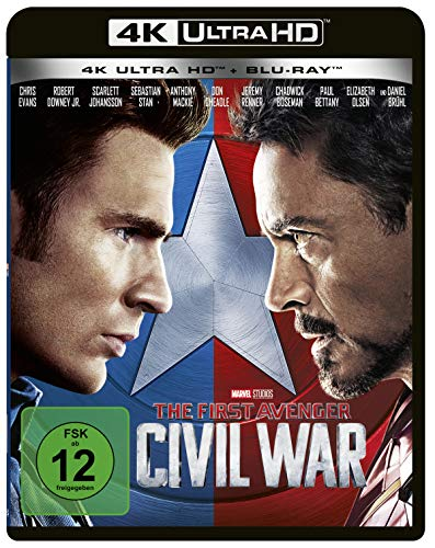 The First Avenger: Civil War (4K Ultra HD) (+ Blu-ray 2D)