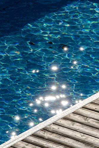Notizbuch - Swimming Pool Urlaub: Wasser Spiegelung - 120 Seiten liniert gepunktet in DIN A5 (6x9