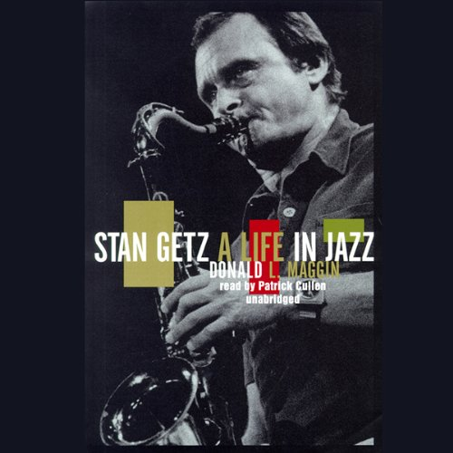 Stan Getz audiobook cover art