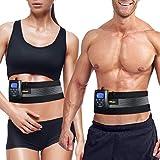 DOMAS EMS AB Muscle Stimulator Belt, Adjustable Electronic Muscle Toning Waist Trainer, 8 Massage...