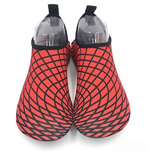 Vast Aqua Shoes - Zapatos de verano transpirables antideslizantes con cinco dedos para interior y yoga, unisex, talla 38 – 39 (adecuado 37 – 38), color: color 02