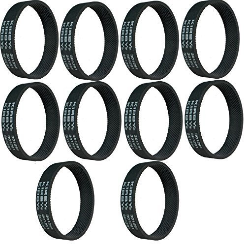 Kirby Belts 301291 Fits Vacuums and Shampooers (10), Black