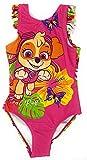Paw-Patrol - Bañador para niña Rosa 3 98 cm/3 años