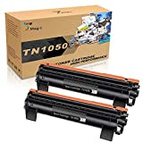 7Magic Compatible Cartucho de Tóner para Brother TN1050 TN 1050 para Brother DCP-1510 DCP-1612W HL-1110 MFC-1810 MFC-1910W HL-1212W HL-1210W DCP-1610W DCP-1512 HL-1112 Impresora(2 Negro)