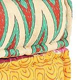 Immagine 2 tidyard pouf poggiapiedi cuscini ottomano