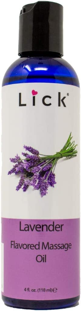 Lavender Flavored Massage Oil for Edible – Couples Superlatite Massagin New sales