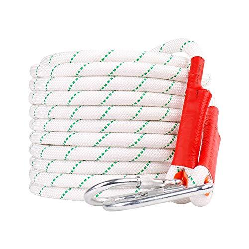 KTYXGKL Cuerda de Escalada Blanca Cuerda estática al Aire Libre 20 mm...