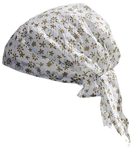 Cool4 zomer hoofddoek natuur olijf gebloemd strand bandana muts chemo cap KT17A