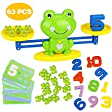 Aitbay Cool Math Game, Frog Balance Counting Toys for Boys & Girls Educational