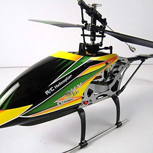 TOYYPAY Control Remoto Aviones de 6 vías de una hilera de helicóptero...