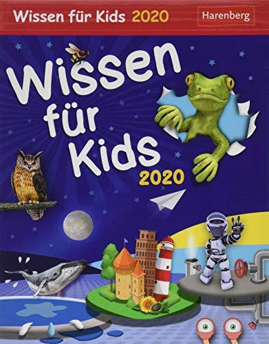 Wissen für Kids Kinderkalender. Tischkalender 2020. Tageskalendarium. Blockkalender. Format 12,5 x 16 cm