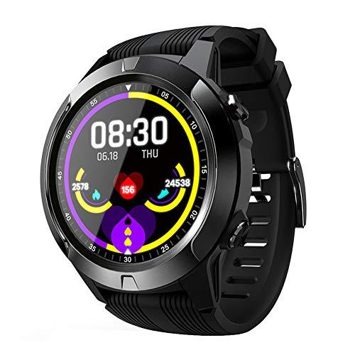 Smart Sports Watch Bluetooth Phone GPS Tracker con monitoraggio della frequenza cardiaca e del sonno Cronometro notifica SMS, orologio da polso fitness impermeabile per uomo donna bambino