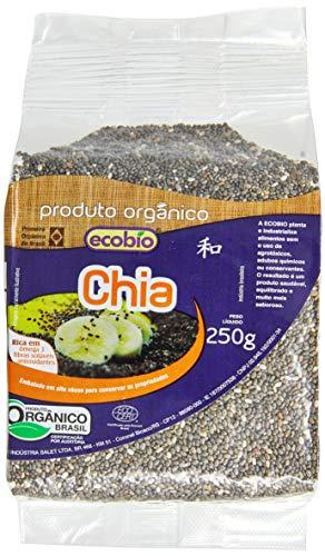 Chia Orgânica Em Grãos Ecobio Produto Orgânico 250G