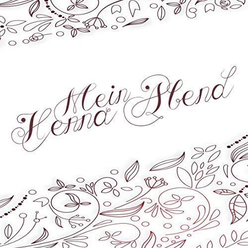 Mein Henna Abend: Gästebuch I Erinnerungsalbum für die Henna Nacht zum selbst gestalten I Florale...