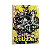 Póster de My Hero Academia – MangaAnime TV Show PosterPrint (temporada 1 – ataque) Las pinturas al óleo más populares de 30 x 45 cm, para decoración de pared de casa de campo, sin marco/Marco