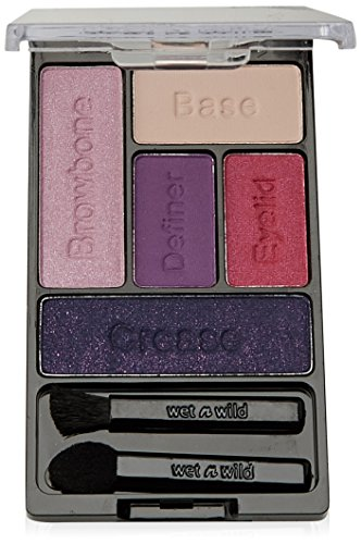 Wnw Eyeshdw C393a Palte F Size .21 O Wet & Wild Color Icon Eye Shadow Palette C393a Floral Values .21 Oz Carded