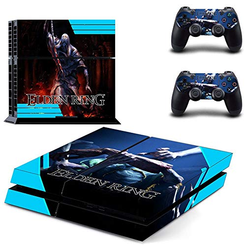 TSWEET Juego Ps4 Skin Sticker Decal para Dualshock Playstation 4 Consola y 2 Controladores Ps4 Skin Sticker Vinyl