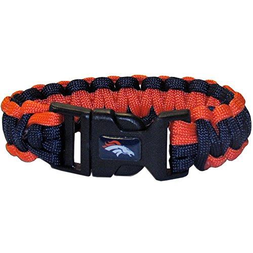 NFL Siskiyou Sports Fan Shop Denver Broncos Survivor Bracelet One Size Team Color