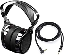 HIFIMAN HE400i Over Ear Open Back Magnetic Planar Reference Studio Headphone with 3.5mm Plug-in Connector-Extended Manufacturer's Warranty