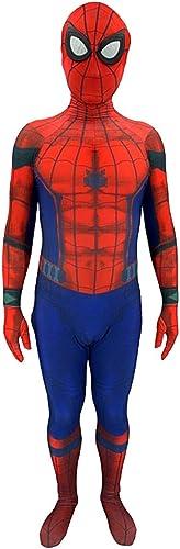 ¡no ser extrañado! Nihiug Spider-Man Heroes Expedición Anime Disfraz Lejos de casa casa casa Traje de Spiderman Disfraz de Halloween cospoay,azul1-L  precios mas bajos