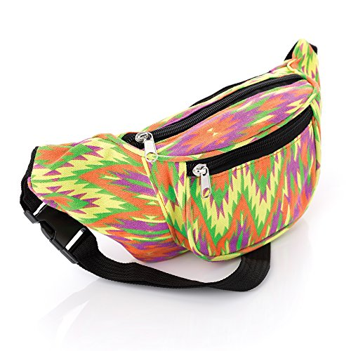Colourful Abstract Waist Pack. Ideal for Festivals / Holidays etc.
