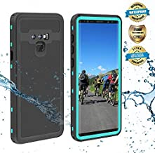 EFFUN Samsung Galaxy Note 9 Waterproof Case, IP68 Certified Waterproof Shockproof Snowproof Dustproof Full Body Protection Underwater Cover with Built-in Screen Protector for Samsung Galaxy Note 9