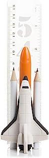 SUCK UK Fun Space Set Children's Pencil Eraser (Space Shuttle Stationery)