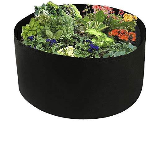 Cama de jardín levantada de Tela, contenedor de siembra