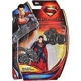 Superman Split Cycle Super-man Man Of Steel Basic Figure by Mattel