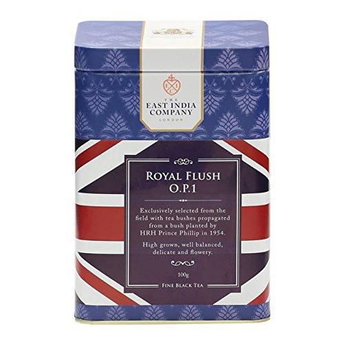 East India Co Royal Overseas parallel import regular item Flush Black - Tea Free shipping on posting reviews 100g