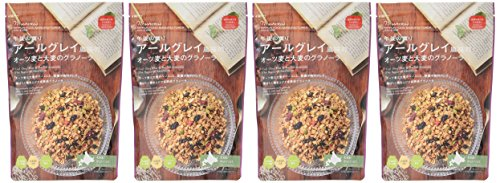 日食アールグレイ風味のオーツ麦と大麦のグラノーラ240g×4個