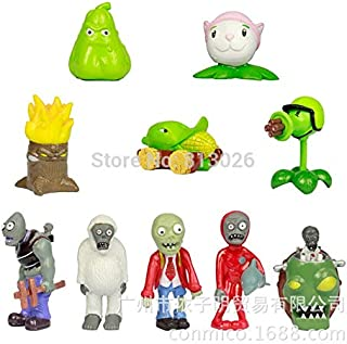 Desconocido PlantsVsZombies Plants VS Zombies - Set 10 Figuras 5-8cm / 10 Figures Set