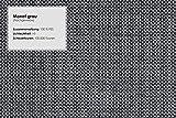 Cavadore 3-Sitzer Sofa Ammerland / Couch mit Federkern im Landhausstil / Inkl. verstellbaren Kopfstützen / 186 x 84 x 93 / Strukturstoff grau - 8