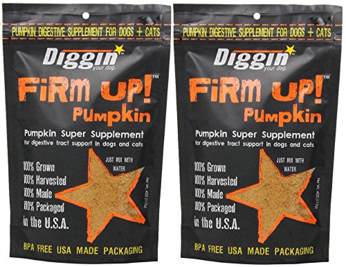 Diggin' Your Dog Firm Up Pumpkin Super Supplement...